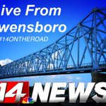 14 News is LIVE in my hometown of Owensboro for 14 News at 4, 5, and 6! I might make an appearance. See you there! http://t.co/zvpuG3h4sl