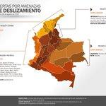 #ATENTOS Aquí están las alertas tempranas vigentes por deslizamientos, incendios e inundaciones en #Colombia http://t.co/0xAYGeDpAj