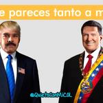 Estos no son Donald Maduro y Nicolás Trump? Su idea de política de maltrato a vecinos los hace ver muy parecidos. http://t.co/wB4hcOTAhX