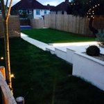 Another stage completed: LED lighting strip. #garden #Bristol http://t.co/sYNCzNn4Rh