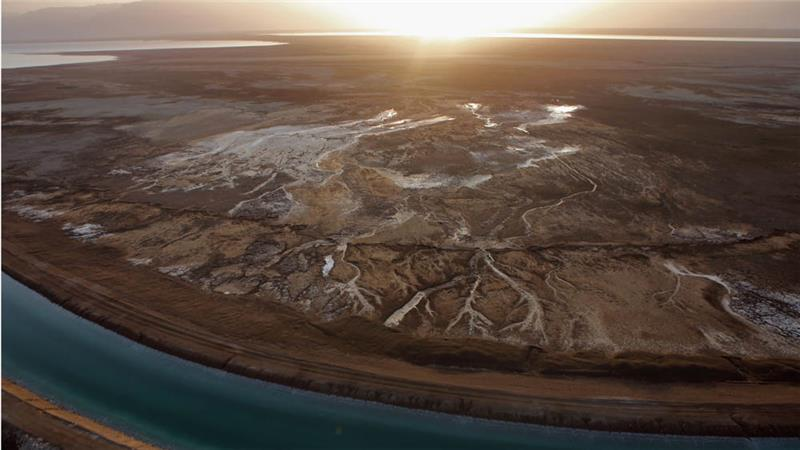"""""""The current situation is an ecological disaster."""" @EcoPeaceME #DeadSea #socent @AJENews  http://t.co/mXPlUhrV72 http://t.co/SHMWoiMVmw"""
