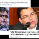 FARC y POLO DEMOCRÁTICO, respaldan a Maduro, pues que se vayan a Venezuela allá quedan regios aplaudiendo como focas. http://t.co/AwOgZisfbA