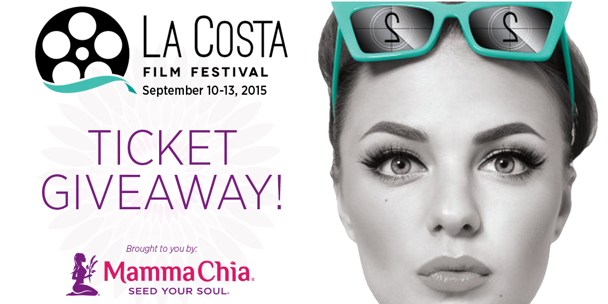 WIN a pair of @LaCostaFilmFest outdoor screening tix! To enter, RT this tweet! 5 winners total. Ends 8/30 #Giveaway http://t.co/LDaAzFOHBt
