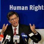 """Gobiernos no deben guardar silencio ante crisis con Venezuela"", afirmó Human Rights Watch http://t.co/my1bLH8Hp8 http://t.co/BgqjbkwqTM"