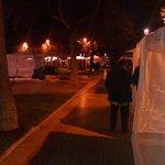 #LaSerena Plaza de Armas preparada para la verbena de este sábado, cientos de toldos, así se observa esta noche http://t.co/spWJzlOAfQ