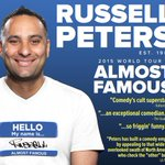 Comedian @therealrussellp comes to @NJPAC Sept 19-20 for his #AlmostFamous tour. Info & tix: http://t.co/GdzWrAikdn http://t.co/ldPrEvE76o