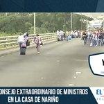 Farc manifestó su apoyo a Venezuela en medio de la crisis fronteriza #Video --> http://t.co/W6e891q3Un http://t.co/j5X1ceFxjN
