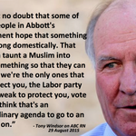Tony Windsor says #BorderForce patrol was a deliberate act to create fear.. http://t.co/VTrFiYGyEo #auspol #Canning http://t.co/gm66sua4pv