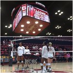 New video board, new unis... Ready to go for the season opener vs @AggieVolleyball! #GoStanford http://t.co/vFCuIOwjwX