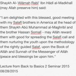 "Shaykh Rabeeopening words @ Germantown masjid ""Back to Basic 2 "" Seminar http://t.co/tQUSHLoJtY"