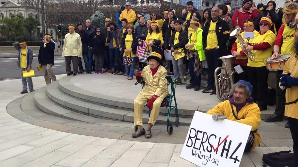 #Bersih4 Wellington has started! http://t.co/CgmlmEGP81