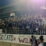 Best student section in the nation🏈🐾 LETS GO PLANO! http://t.co/oHfdYgTa7w