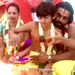 The boy becomes a Bhramachari. Thank you all for your blessings. http://t.co/7YnCPqtpI6