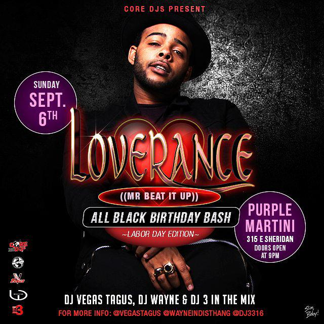 NEXT SUNDAY AT @OkPurpleMartini ALL BLACK BIRTHDAY BASH FOR @LoveRance #OKC #COREDJS http://t.co/8Ja6HMZhco