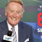 """@Dodgers: OFFICIAL: Itll be a very pleasant 2016. Vin Scully to return for his 67th season. http://t.co/SK91CsVY18"" Bless his heart! 💙"