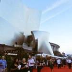 Enjoying a beautiful Los Angeles evening out at @lafoodwine #mydayinLA #losangeles #winelovers http://t.co/KfH0gio2Fs