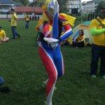 #Bersih4: 3.30 petang, Ultraman di Padang Song Kheng Hai, Kuching http://t.co/zX2MFOKtQq