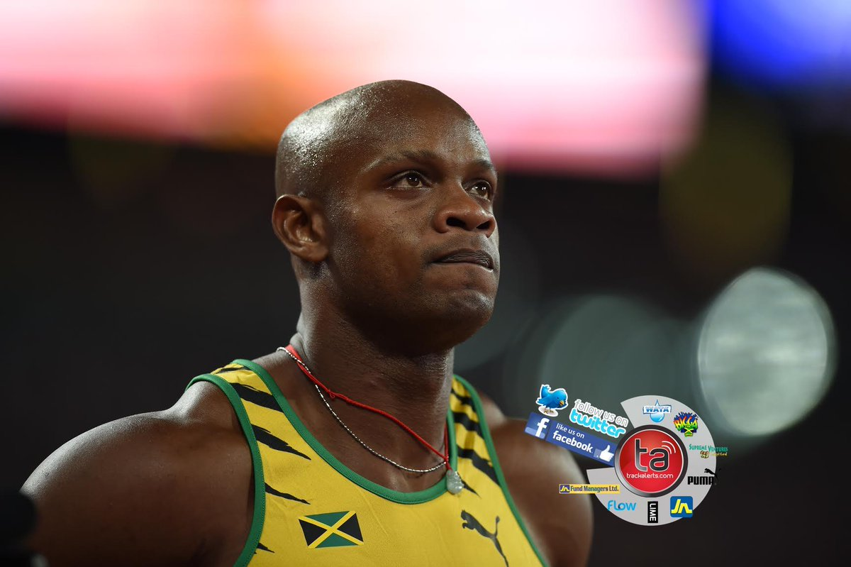 @officialasafa with a brilliant backstretch helped Jamaica 37.41 beat France 37.88 in 4x1 prelims #Beijing2015 http://t.co/tNSz1Epii5