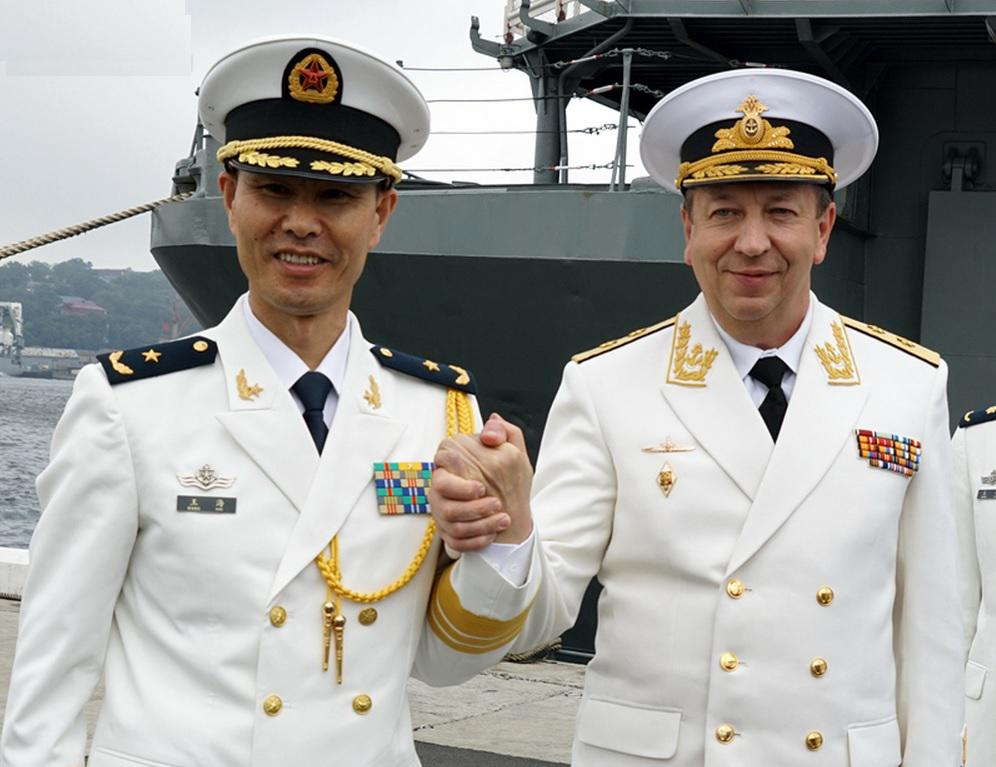 Chinese and Russian navies has completed a 9-day joint drill in Peter the Great Gulf, waters off Sea of Japan on Fri http://t.co/kzBcsXbo5W