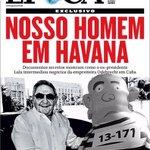 Acho que a capa da @RevistaEpoca deveria ser assim. Lula Inflado é maior que o próprio Lula. http://t.co/853JzUNr4h