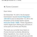 Сбербанк всё. #Apple #Crimea http://t.co/ijvWlbZsPf