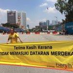 Pesanan rakan seangkatan. @501Awani #Bersih4 http://t.co/NBpYu1V6iq