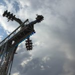 I rode the most WILD ride at the #ColoStateFair today AND lived to tell about it. VIDEO: http://t.co/3fh4ES1vT6 http://t.co/6wpLfAcSKu
