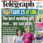 Belfast Telegraph front page, Saturday 29 August 2015 http://t.co/Uwd2L5v8cj