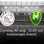 Zondag geen kassaverkoop, dus bestel je tickets voor #Ajax - ADO Den Haag online: http://t.co/SmkAZvPbAv #ajaado