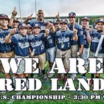 Good luck to Pennsylvania in the U.S. Championship of the #LLWS from Pennsylvanias football team #WeAre #RedLand http://t.co/GPod34ramt