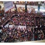 CONGRATS BAE @aldenrichards02 PALONG PALO UNG TAO NOW SA Marquee Mall WRE SOO PROUD OF YOU! #ALDUBMaiDenHeaven http://t.co/RHIrOhO3Mz