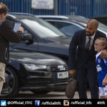 PICTURE: David McGoldrick arrives at Portman Road ahead of todays game against Brighton #itfc http://t.co/iPhwGkjWU0