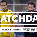 Its Matchday! And were visiting Yankee Stadium. #CrewSC at @NYCFC ???? @TWCSportsOH ???? @CD1025FM & La Mega 103.1 http://t.co/ii0OUl3SQu