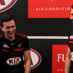 All smiles and ready to #DonTheSash for the first time. http://t.co/2ex99OFqAy