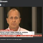 """For us to be convicted as terrorists is outrageous"" Peter Greste http://t.co/cy8AQNFnUe #freeAJstaff http://t.co/xvLsJgUBuZ"