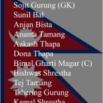 #Nepal U-19 team shows the countrys diversity RT @kathmandupost: Here is the Nepali starting XI #NEPVIND http://t.co/TAhOo6jM1m
