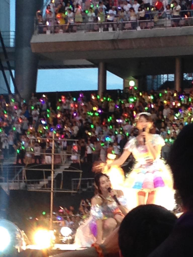じゅりれな2  #ske48 #豊田スタジアム http://t.co/pVPOoCSJMZ