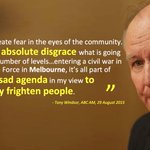 A man whos earned my respect and who has sadly been proven right re Tony Abbott @TonyHWindsor #auspol http://t.co/9bvtwdhEag