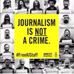 RT if youre appalled at the decision in Egypt today. #JournalismIsNotACrime #FreeAJStaff http://t.co/z9I0QRFd1L