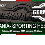 MATCHDAY op Sportpark Noord: Germania -Sporting Heerlen, aanvang 18.00uur http://t.co/czeZHh1x7M