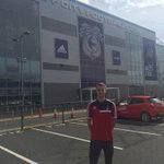 Just arrived at @CardiffCityFC ! Cant wait for the game .. 3 points today #nffc #youreds #Matchday http://t.co/uoBQLh0Vy8