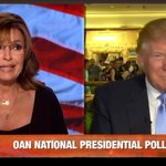 .@SarahPalinUSA had nothing but praise for @realDonaldTrump during an interview last night. http://t.co/qoqwCyXOHv http://t.co/V1EdcjMcpv
