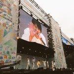 a-nation1日目終了! Resort Stage、初のスタジアム???? ライヴを観たり手を振って下さったり盛り上がって下さった皆さん有難うございました! そして!#SUPERJUNIOR さんのライヴ最幸でした????楽しすぎました☺️ http://t.co/fPyiB0B1ss