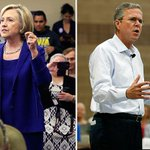 Poll says Trump is 'arrogant', Hillary is a 'liar' and Jeb is a 'Bush' http://t.co/h4qOlGV8z5 http://t.co/RyB4lZdiXe