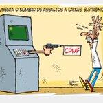 A volta da CPMF é mais um assalto à população brasileira honesta! Até pq pixulecos são em espécie #LulaNuncaMais http://t.co/N7DwKiDSgN