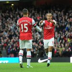 This is the 1st time @Alex_OxChambo & @theowalcott have started a #BPL match together since August 2013... #NEWARS http://t.co/UYqHnA1JUI