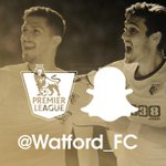 SNAPCHAT: Remember to add watford_fc on @Snapchat, for all the behind-the-scenes build-up from The Etihad today. http://t.co/MOS2yZ4fM0