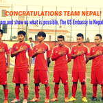 Congratulations to #Nepal - the new South Asian football champions! A well deserved win for an indefatigable team. http://t.co/6xUZkMhBcA
