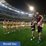 Paul Chapman @mcg #AFLDonsTigers @superfooty @theheraldsun #chappy The last time http://t.co/GCqBbmO53i