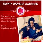 .@rohanvajani07 shares a cute picture with his sisters  #RakshaBandhan #PyaaraSaBandhan